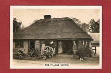 ACLE NORFOLK Village Blacksmith Forge Longfellows original 1937 photo card