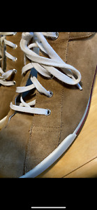 estate gucci suede sneakers/shoes