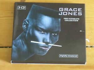 """3 CD GRACE JONES The Ultimate Collection (greatest hits/very best of/12"""" mixes)"""