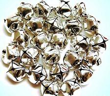 Jingle Bells Silver 15mm 24pcs