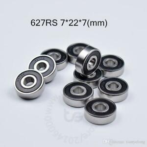 16 Pack 7mm Quad Derby Jam Roller Skate Bearings for 7mm axle only - 627 rs