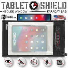 Mission Darkness NeoLok Window Faraday Bag for Tablets (Magnetic Closure)