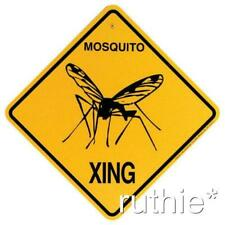 Mosquito Crossing Xing Sign New
