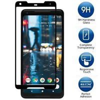 Black 3D Curved Premium Tempered Glass Screen Protector  For Google Pixel 2/2XL