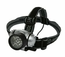 NEW Woods Battery Operated Headlamp w/ 21 LED Bulbs (Black) Batteries Included