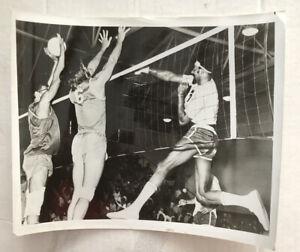 Wilt Chamberlain Volleyball photograph