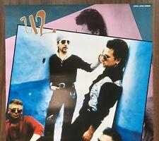 $0 ship! U2 JAPAN PROMO POSTER Achtung Baby POLYSTAR original MORE U2 listed!