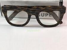 $191 366 Super Sunglasses Ciccio Havana Glitter Gold Legs RetroSuperFuture