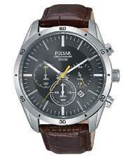 Pulsar Watch PT3837X Chronograph 43mm Case Men's Watch 10 ATM RRP $199