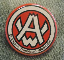 Pin Button Badge Ø38mm  Trappistenbier WESTMALLE (bière) 4