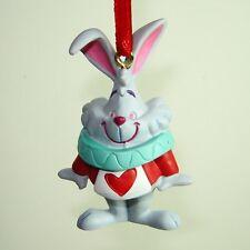 Disney 2017 Sketchbook Ornament Mini White Rabbit Alice in Wonderland NEW