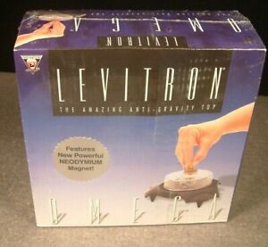 NEW LEVITRON OMEGA Amazing Anti-Gravity Top Factory Sealed Excellent Science Toy