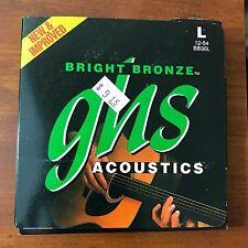GHS Guitar Strings Bright Bronze Acoustics Light BB30L