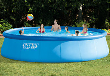 Intex Easy Set Inflatable Deluxe Above Ground Family Swimming Pool Equpiment