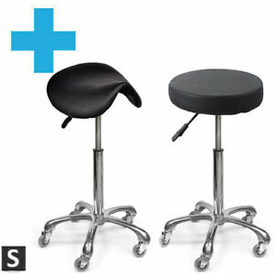 Premium High Salon Stool - FIVE STAR - Beauty, Hairdressing and Barbers