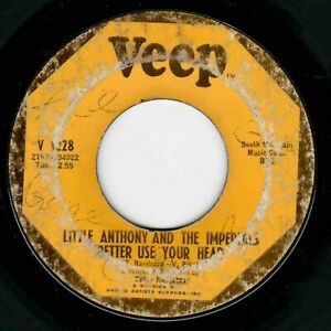 """NORTHERN SOUL - LITTLE ANTHONY - BETTER USE YOUR HEAD - VEEP  -""""HEAR"""""""