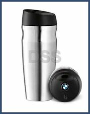 Genuine BMW Thermo Mug Stainless Steel Insulated Cup Travel 15oz. 80562211967