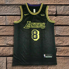 Los Angeles Lakers Kobe Bryant Black Mamba City Edition Swingman Jersey US