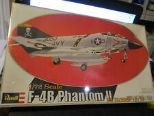 1/72 Monogram Revell F-4B Phantom II Jet Plastic Scale Model Kit Sealed 4302