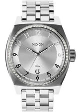 Nixon Monopoly Women Watch (All Silver / Crystal)