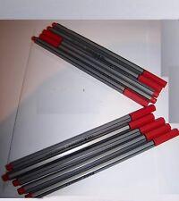(Grundpreis pro Stück 0,50€) 10 x Fineliner 0,4 mm rot Feinliner