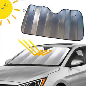 Car Windshield Sun Visor Cover Block Foldable Window Sun Shade UV Protector