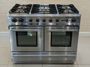 FALCON CONTINENTAL 110CM DUAL FUEL RANGE COOKER IN STAINLESS STEEL  A636