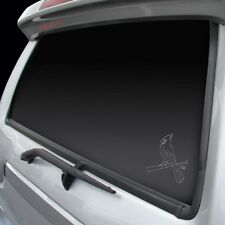 St. Louis Cardinals Chrome Window Graphic #NEW Silver Sticker Decal Car Auto MLB