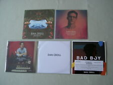 DAN CROLL job lot of 5 promo CDs In/Out EP Sweet Disarray Sampler Home Bad Boy