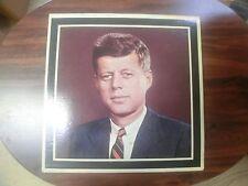 "John Fitzgerald Kennedy Tribute LP 12"" Vinyl Record Memorial Album FREE SHIP"