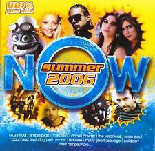 Now Summer 2006-CD Les Rythmes Digitales-Sean Paul-Kisschasy-Simple Plan-Faker