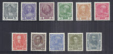 1908-1913 Austria SC 110a-120a   MI 139-149 - Variety Set of 11 VF/XF Fresh Set*