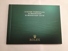 ROLEX ITALIAN Perpetual Submariner Date Booklet 2012 or 2013