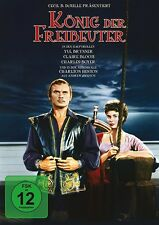 CHARLES BOYER,YUL BRYNNER CLAIRE BLOOM - KÖNIG DER FREIBEUTER   DVD NEU