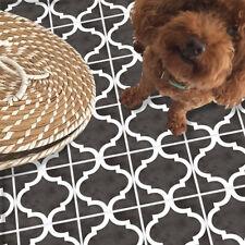 3D Vintage Tile Floor Ground Sticker Self-adhesive Bathroom Kitchen Wall 20x300