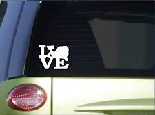 "Whale love sticker *H170* 6"" vinyl humpback sperm whale decal"