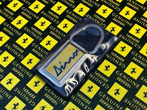 Ferrari Original Vintage Keychain Keyfob Ferrari Dino NOS Condition RARE