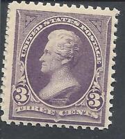 ORLEY STAMPS 1895 US Stamps Scott # 268 3 Cent Denomination Jackson MNH/OG