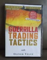 Factory Sealed DVD - Oliver Velez Guerrilla Trading Tactics Short Term Day Trade