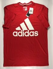 Adidas Men's Bos Classic T-Shirt Red Xlt Nwt