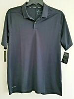 Nike Golf Mens Large Black Dri-Fit Standard Fit Polo Shirt 891881-010 NWT