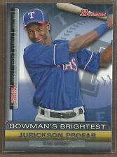 2011 Bowman Jurickson Profar BBR23 Baseball Card