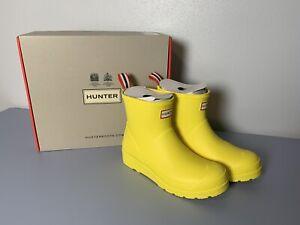 Hunter Boots - Women's Original Play Short Rain Boots: Spanish Yellow, Size 6