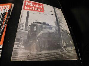 The Model Builder Magazine Vintage Issue February 1947