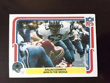 """1980 Fleer DALLAS COWBOYS #14 Bob Breunig """"Man in the Middle"""""""
