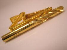P & N Hi-Speed Twist Drill Vintage ADVERTISING Tie Bar Clip