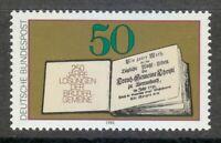 Germany 1980 MNH Mi 1054 Sc 1333 Moravian Brethren's Book of Daily Bible **