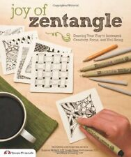 Design Originals 1-Piece Joy of Zentangle: Drawing Your Wa... by Suzanne McNeill