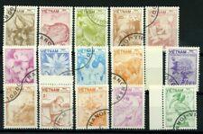 Vietnam 1984 Mi. 1529-1543 Usato 100% Pesci
