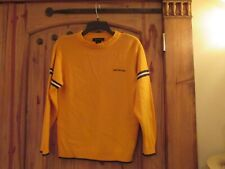Youth Older Boy Calvin Klein Sweater, size M, Gold Color, Pre-owned. Nice!